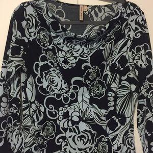 Sexy asymmetric blouse